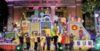 Toy Factory Christmas Display Lights up in Ilocos Sur