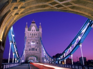 Crossing Over, Tower Bridge, London, England
