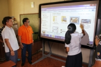 Narvacan Public High Schools receive High Tech educational tools